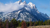 Горы, США, Grand Teton National Park, Wyoming