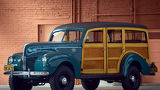 Ford, Ретро, Station Wagon, Standart